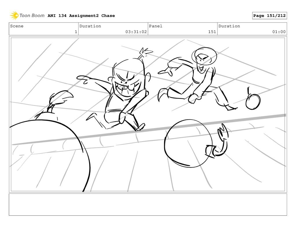 Scene 1 Duration 03:31:02 Panel 151 Duration 01...
