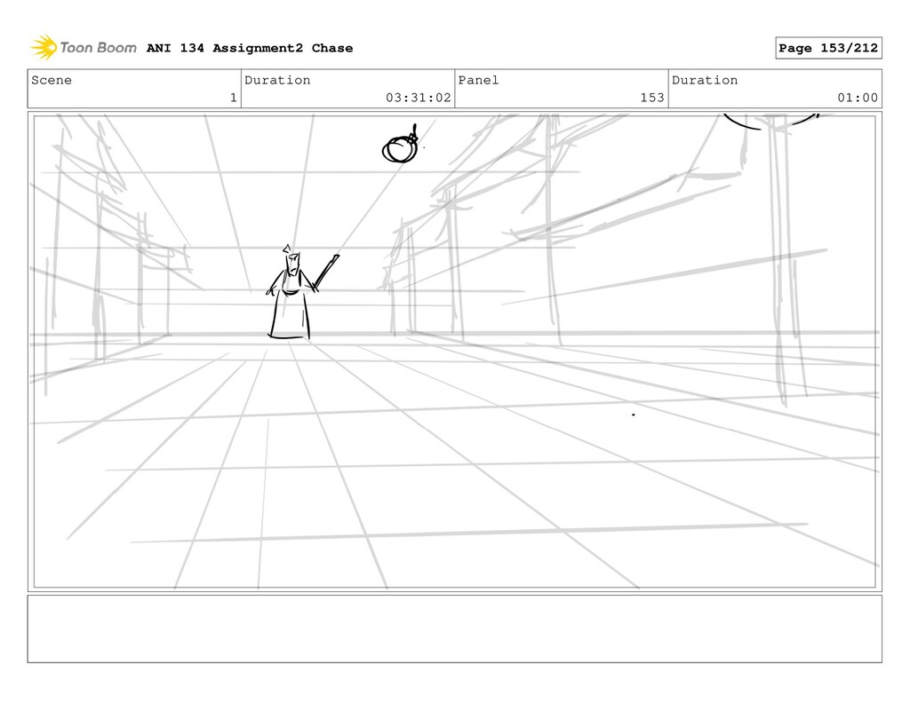Scene 1 Duration 03:31:02 Panel 153 Duration 01...