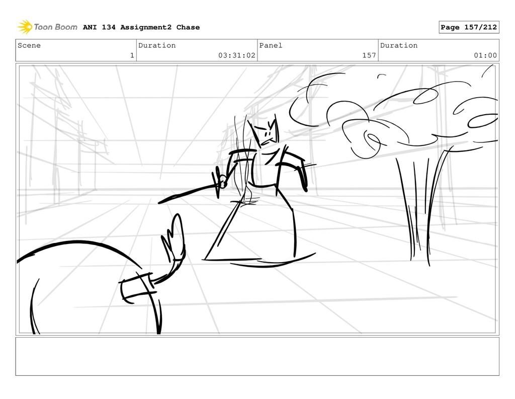 Scene 1 Duration 03:31:02 Panel 157 Duration 01...
