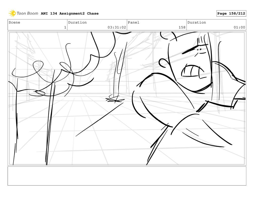 Scene 1 Duration 03:31:02 Panel 158 Duration 01...