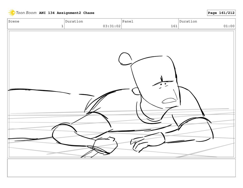 Scene 1 Duration 03:31:02 Panel 161 Duration 01...