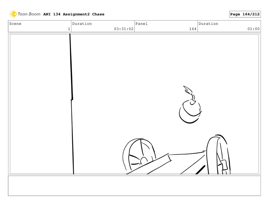 Scene 1 Duration 03:31:02 Panel 164 Duration 01...