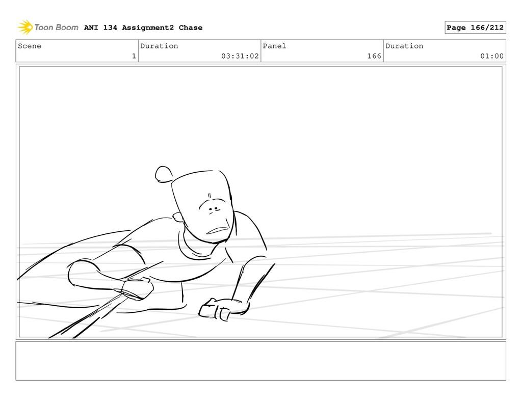 Scene 1 Duration 03:31:02 Panel 166 Duration 01...