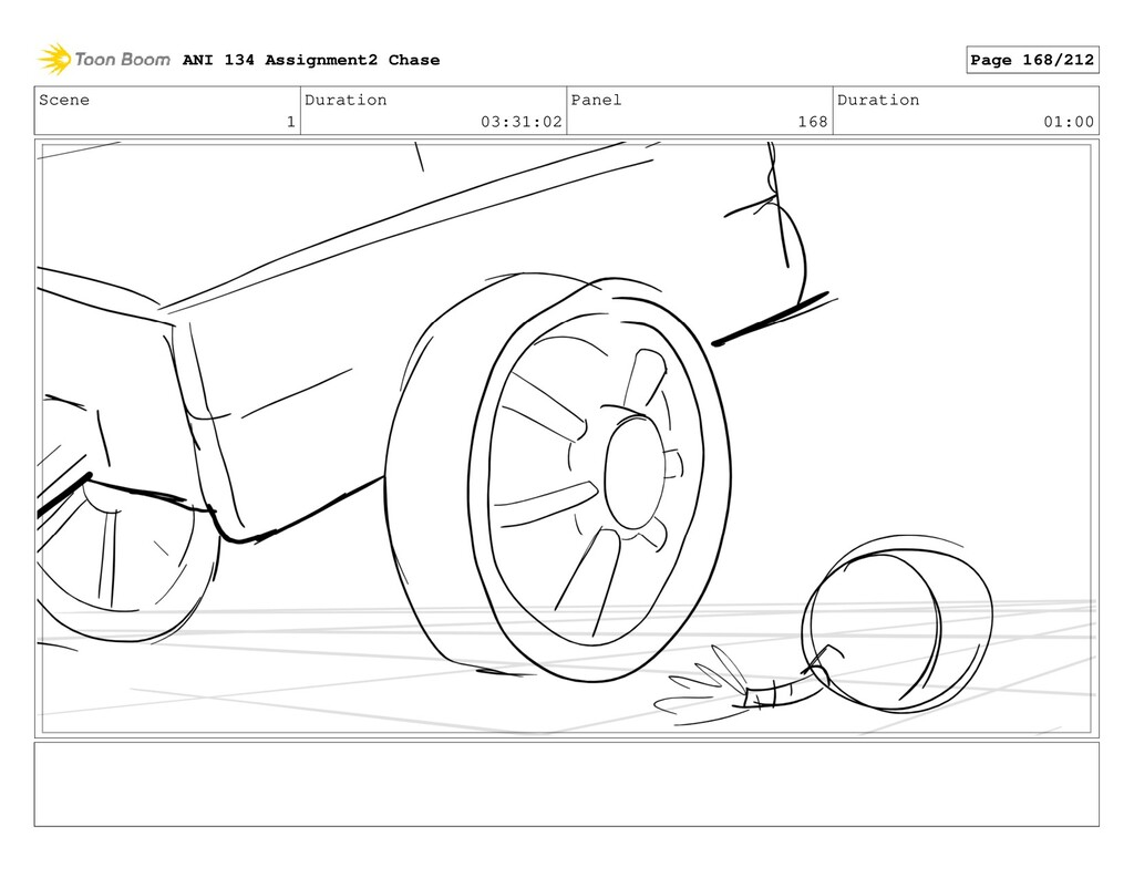 Scene 1 Duration 03:31:02 Panel 168 Duration 01...