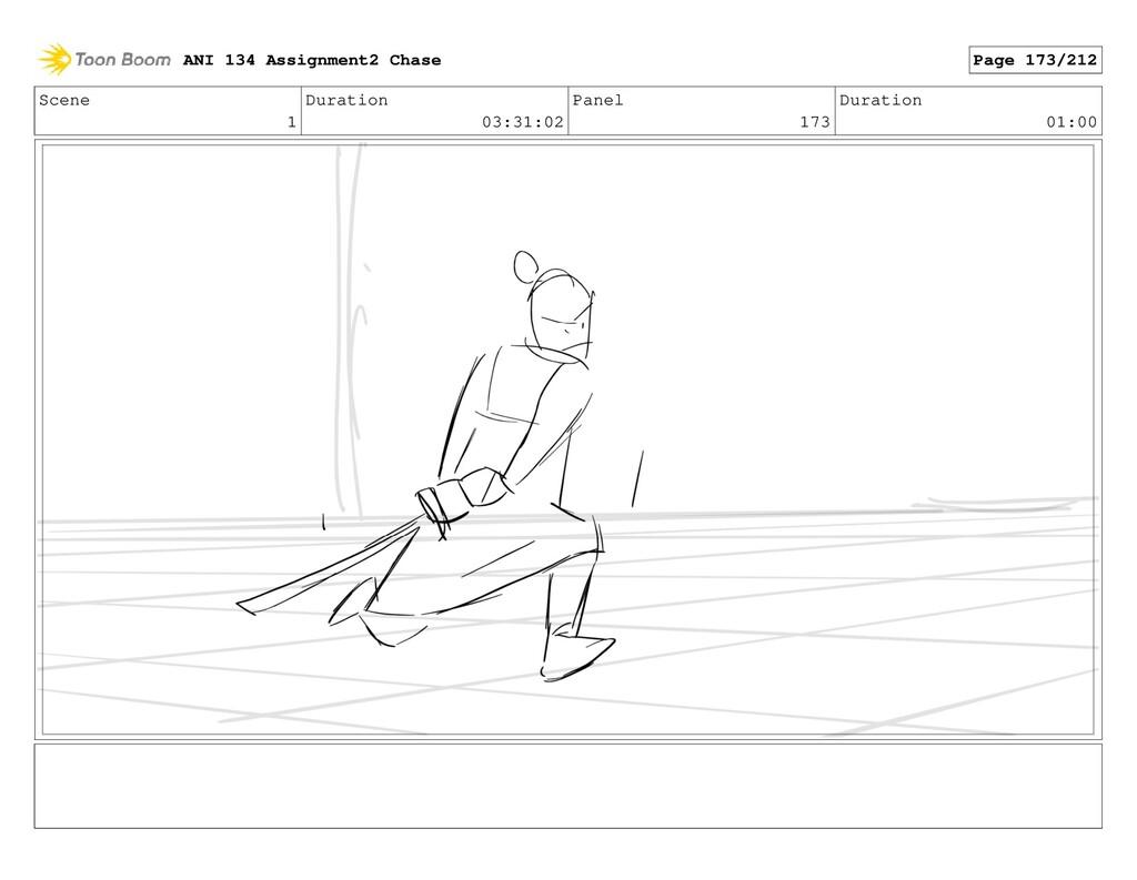 Scene 1 Duration 03:31:02 Panel 173 Duration 01...