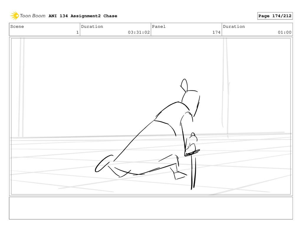 Scene 1 Duration 03:31:02 Panel 174 Duration 01...