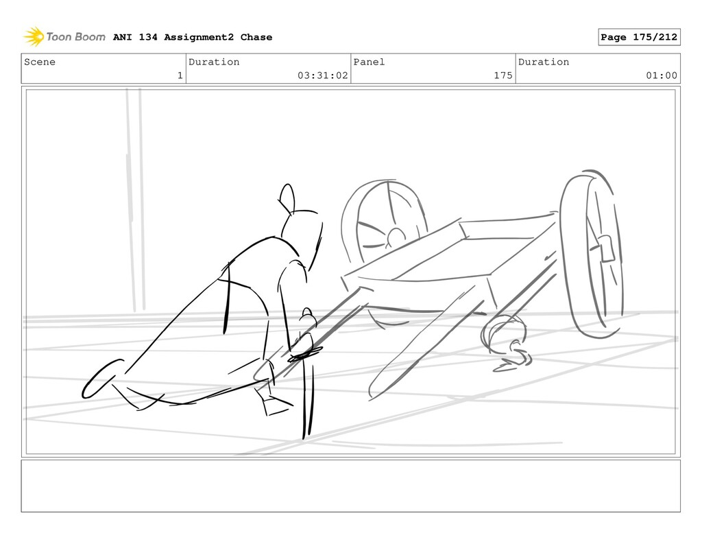 Scene 1 Duration 03:31:02 Panel 175 Duration 01...