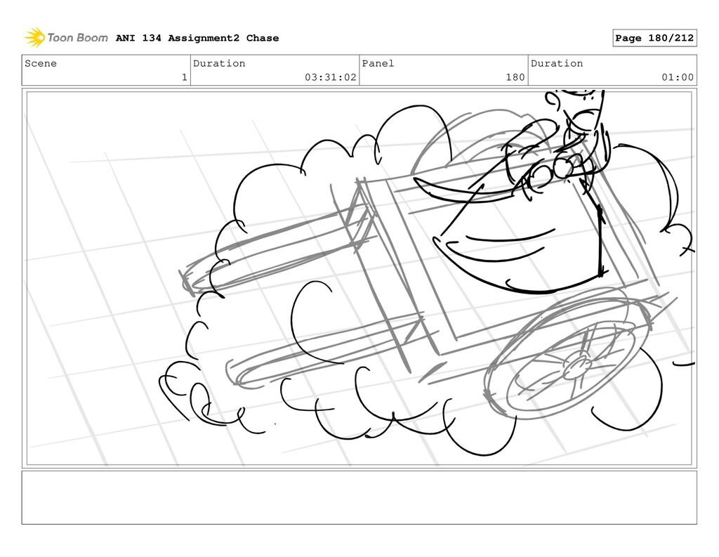 Scene 1 Duration 03:31:02 Panel 180 Duration 01...