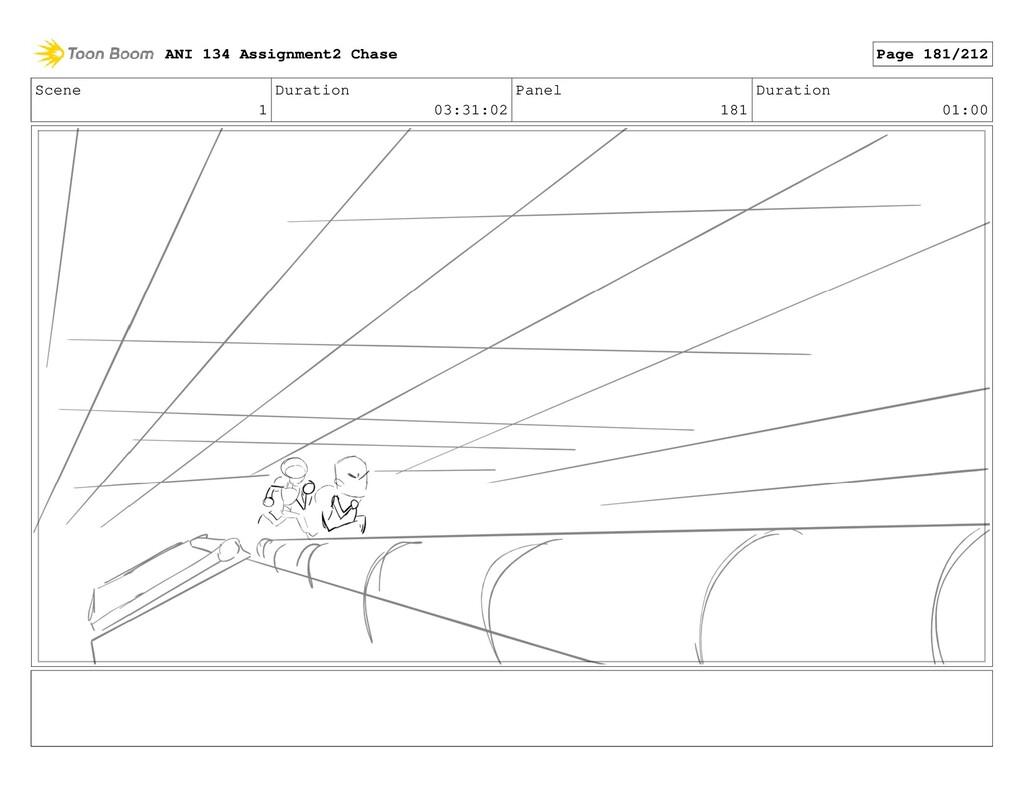 Scene 1 Duration 03:31:02 Panel 181 Duration 01...