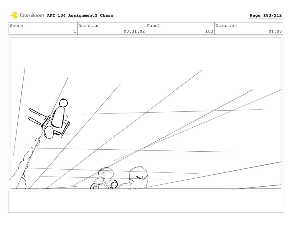 Scene 1 Duration 03:31:02 Panel 183 Duration 01...