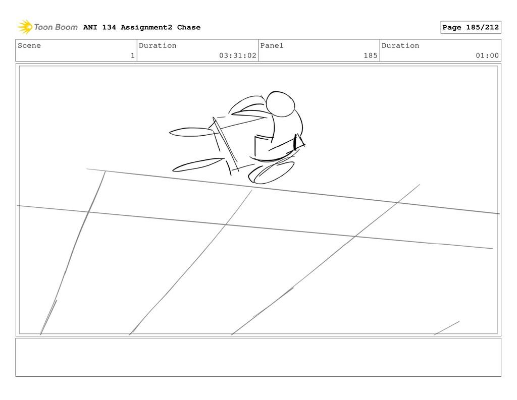 Scene 1 Duration 03:31:02 Panel 185 Duration 01...