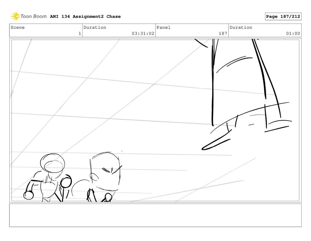 Scene 1 Duration 03:31:02 Panel 187 Duration 01...