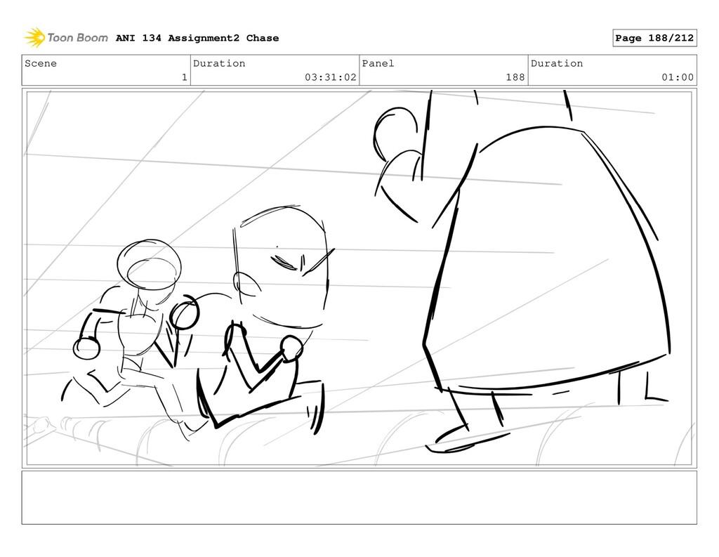 Scene 1 Duration 03:31:02 Panel 188 Duration 01...