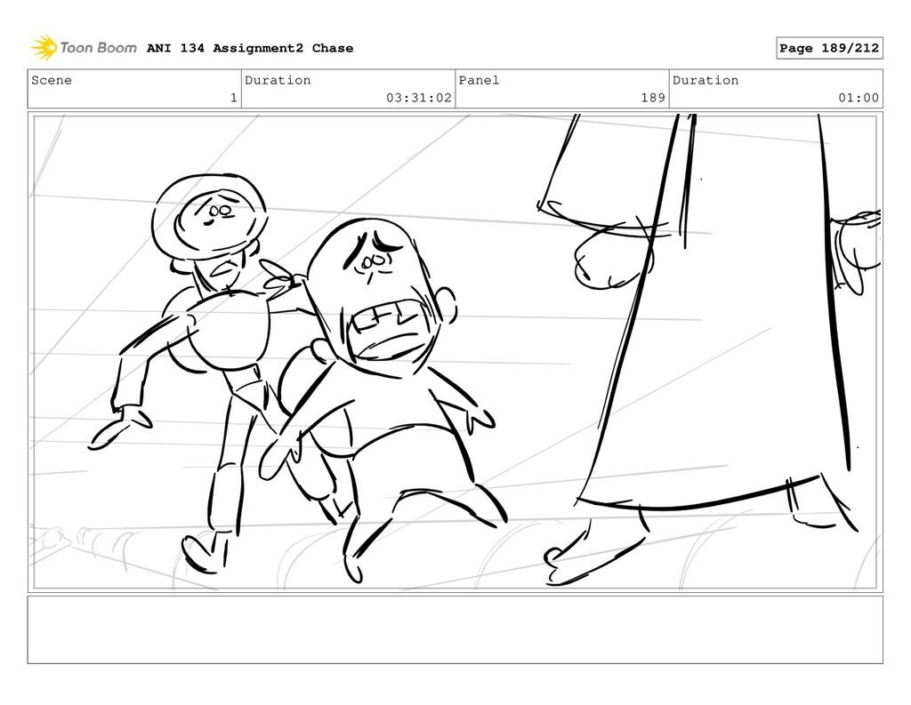 Scene 1 Duration 03:31:02 Panel 189 Duration 01...