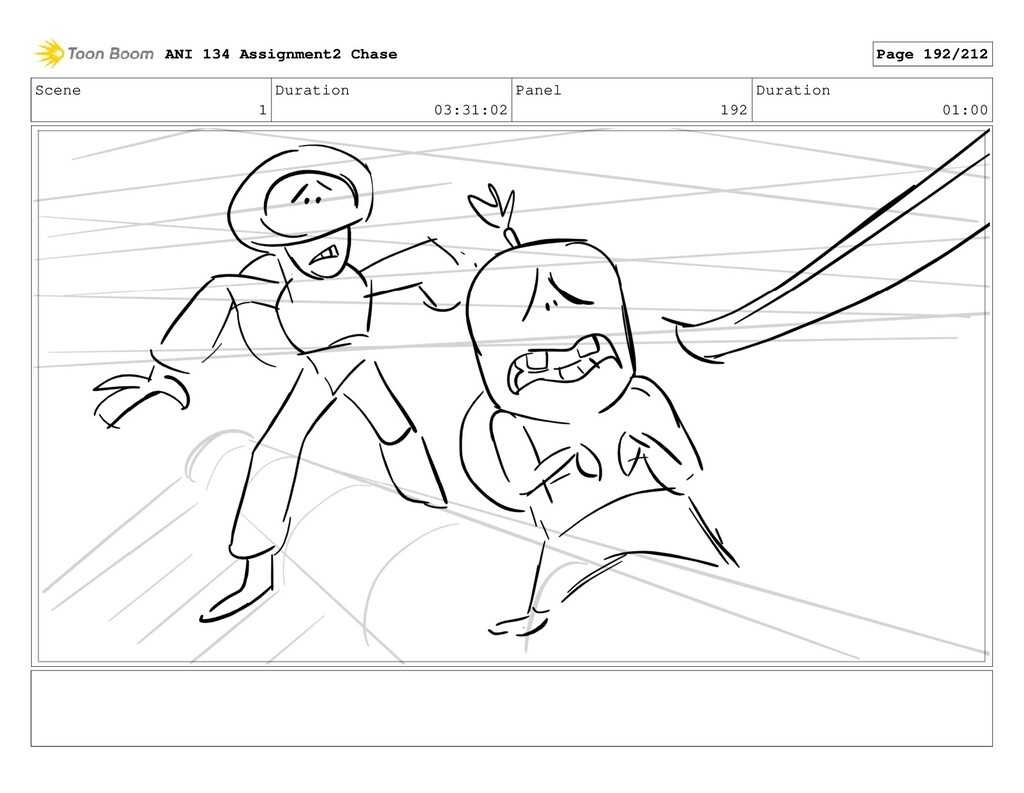 Scene 1 Duration 03:31:02 Panel 192 Duration 01...
