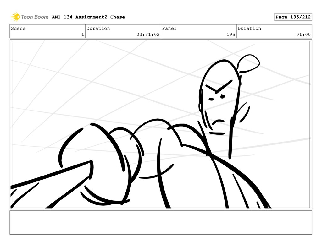 Scene 1 Duration 03:31:02 Panel 195 Duration 01...