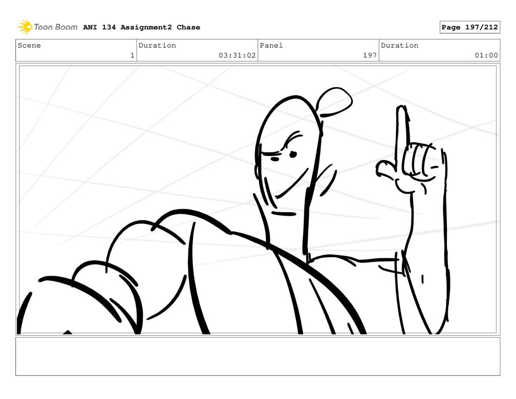 Scene 1 Duration 03:31:02 Panel 197 Duration 01...