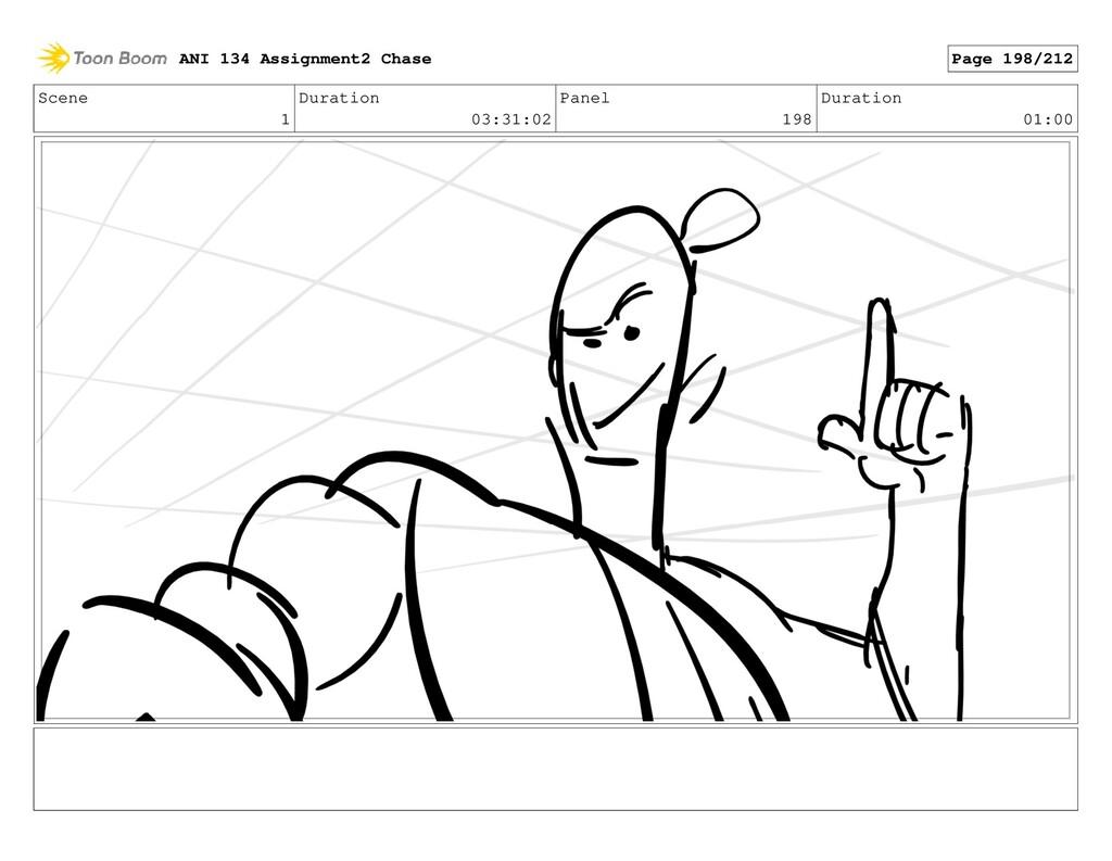 Scene 1 Duration 03:31:02 Panel 198 Duration 01...