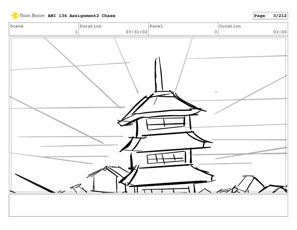 Scene 1 Duration 03:31:02 Panel 3 Duration 01:0...
