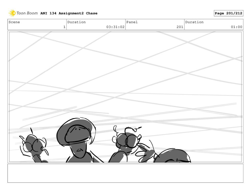 Scene 1 Duration 03:31:02 Panel 201 Duration 01...