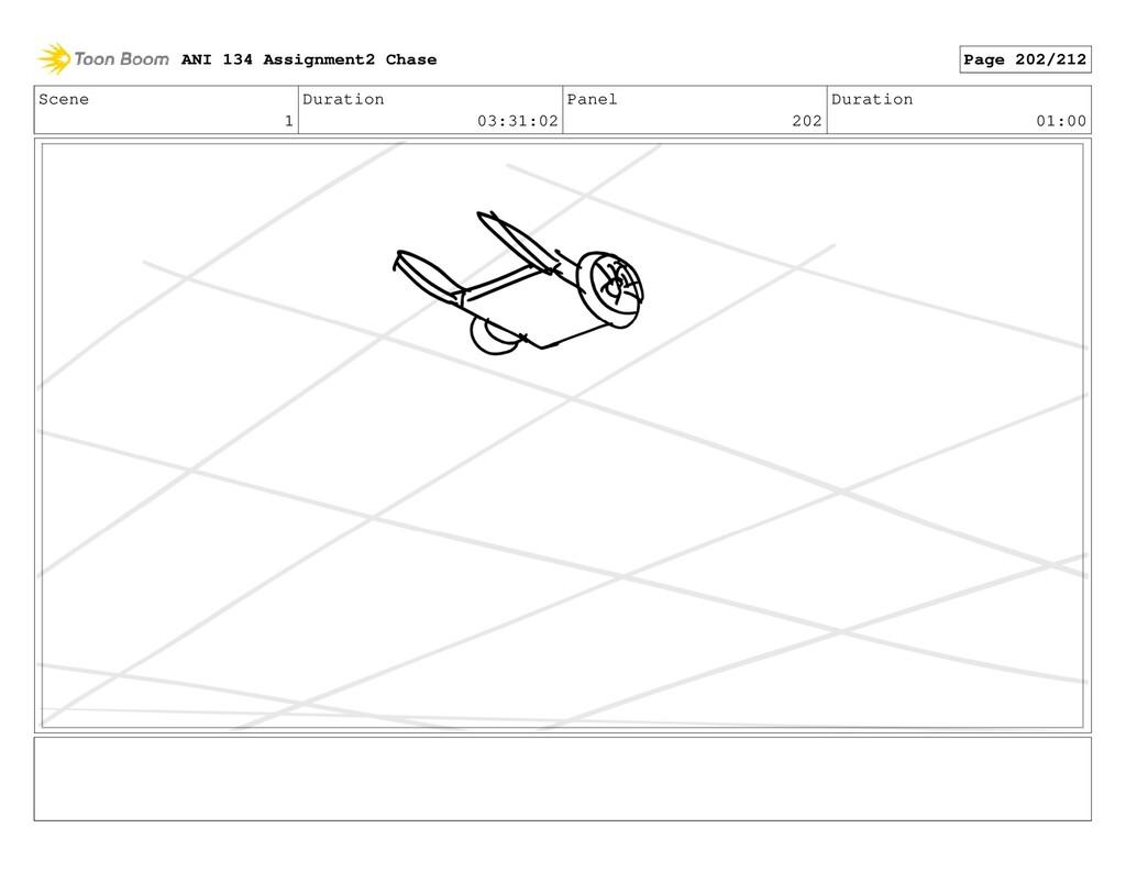 Scene 1 Duration 03:31:02 Panel 202 Duration 01...