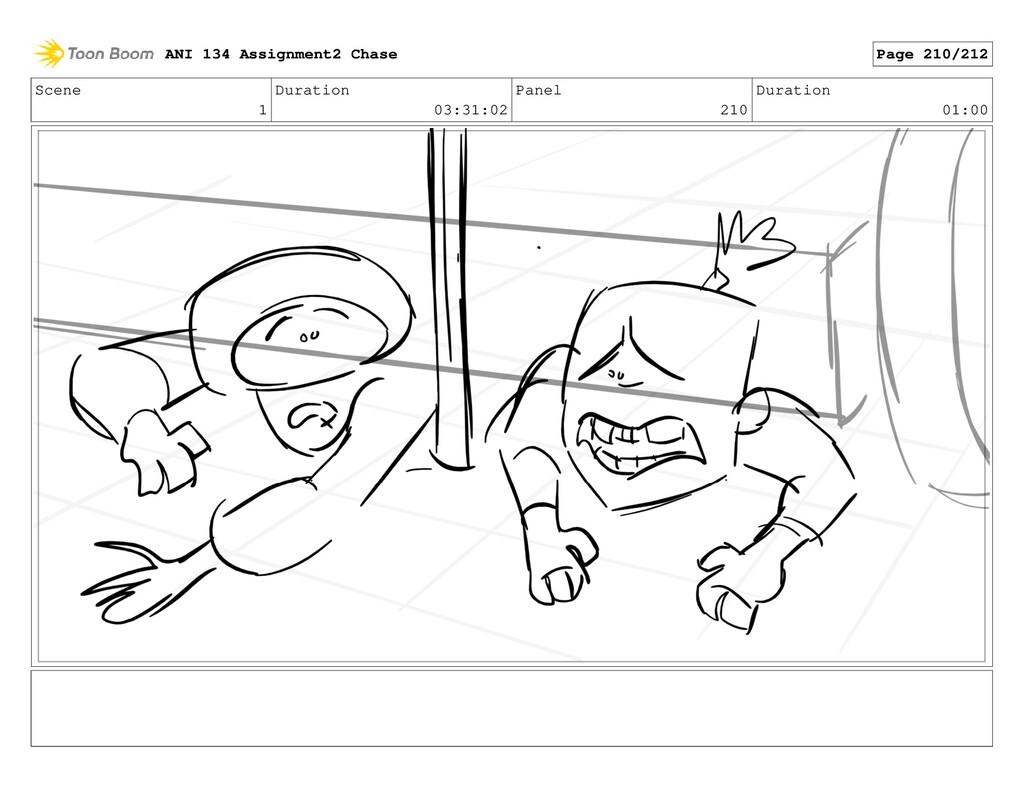 Scene 1 Duration 03:31:02 Panel 210 Duration 01...