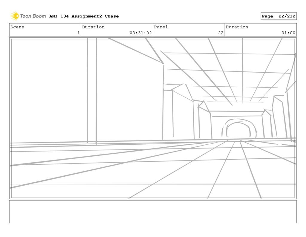 Scene 1 Duration 03:31:02 Panel 22 Duration 01:...