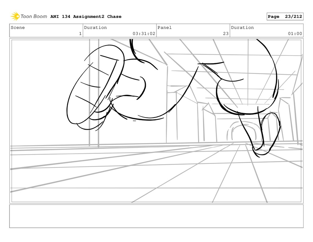 Scene 1 Duration 03:31:02 Panel 23 Duration 01:...