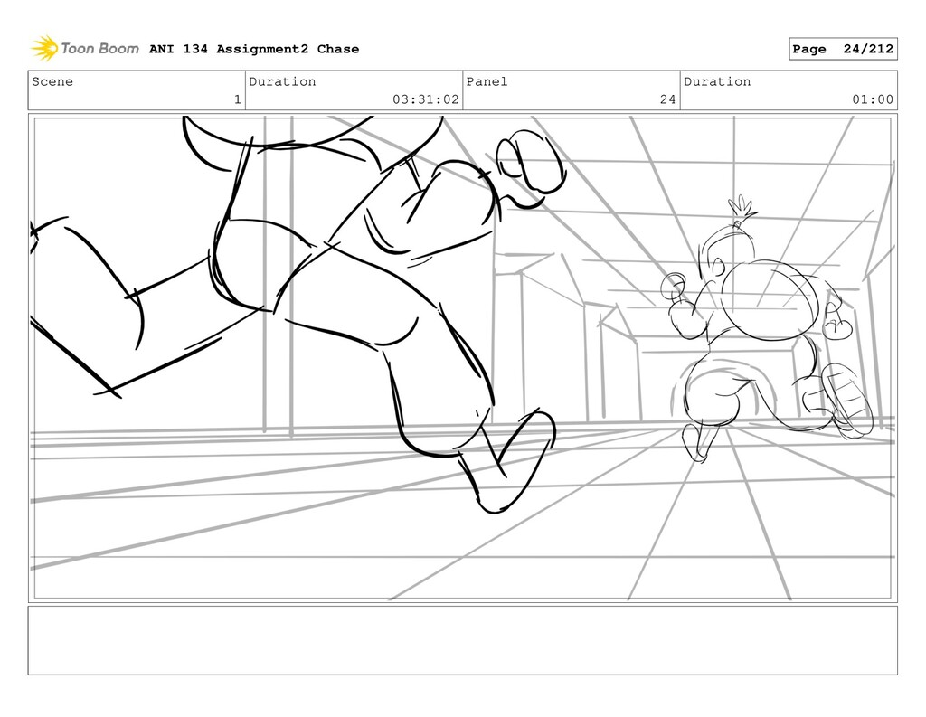 Scene 1 Duration 03:31:02 Panel 24 Duration 01:...