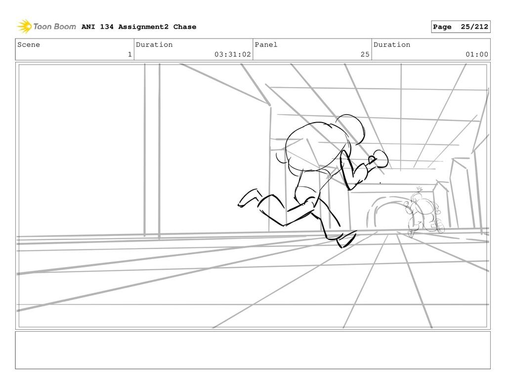 Scene 1 Duration 03:31:02 Panel 25 Duration 01:...