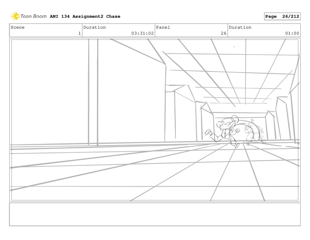 Scene 1 Duration 03:31:02 Panel 26 Duration 01:...