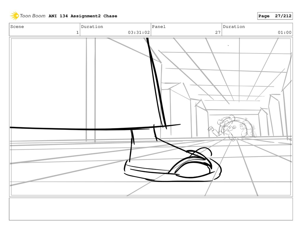 Scene 1 Duration 03:31:02 Panel 27 Duration 01:...