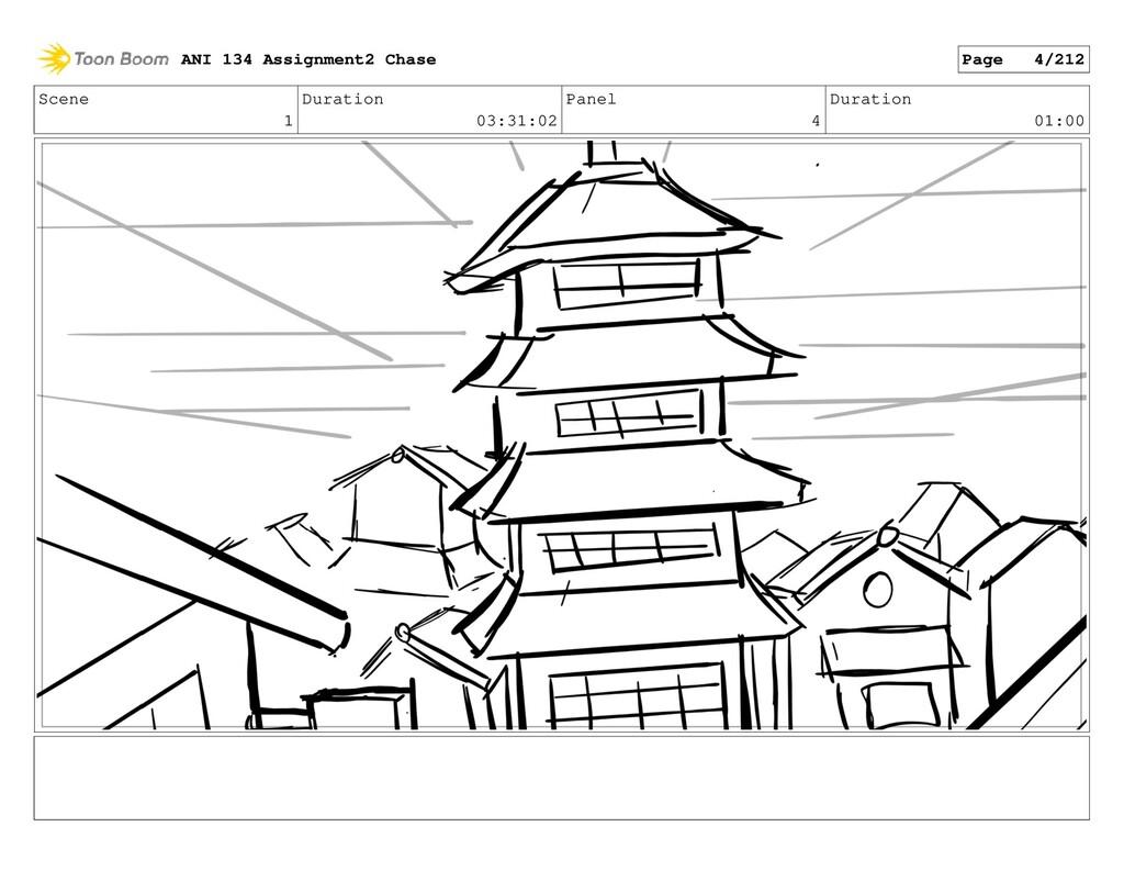 Scene 1 Duration 03:31:02 Panel 4 Duration 01:0...