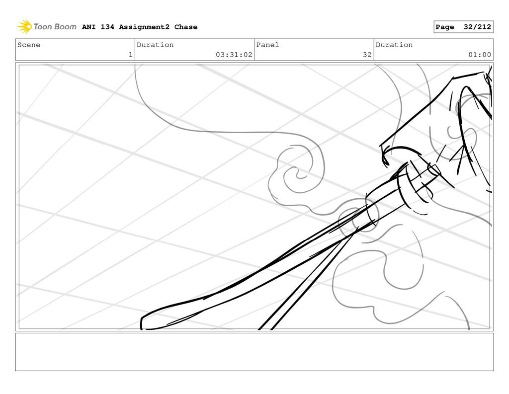 Scene 1 Duration 03:31:02 Panel 32 Duration 01:...