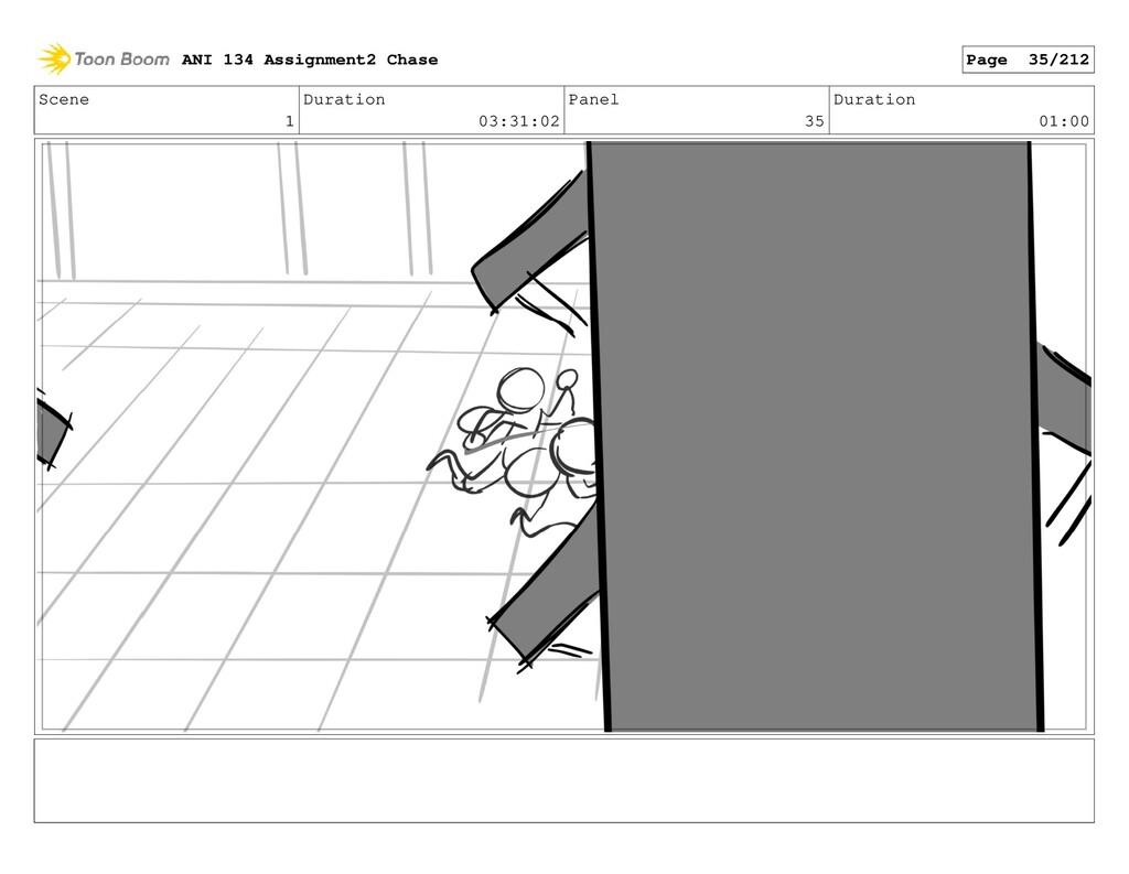 Scene 1 Duration 03:31:02 Panel 35 Duration 01:...