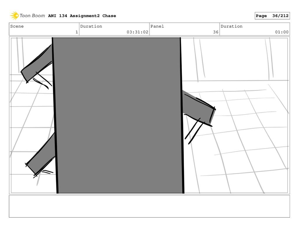 Scene 1 Duration 03:31:02 Panel 36 Duration 01:...