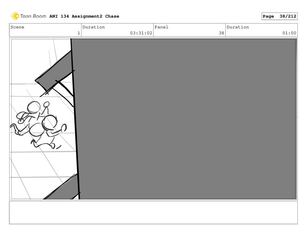 Scene 1 Duration 03:31:02 Panel 38 Duration 01:...