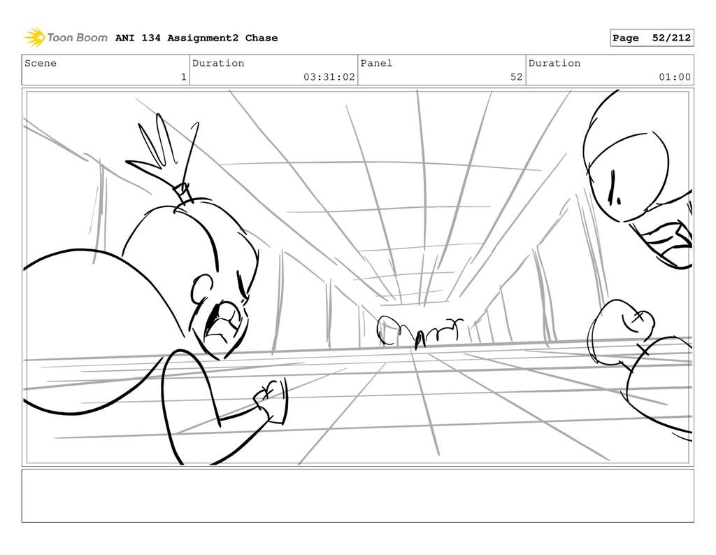Scene 1 Duration 03:31:02 Panel 52 Duration 01:...