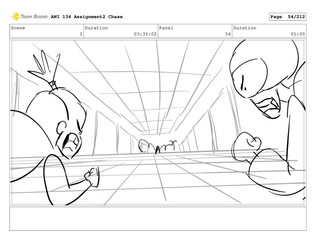 Scene 1 Duration 03:31:02 Panel 54 Duration 01:...