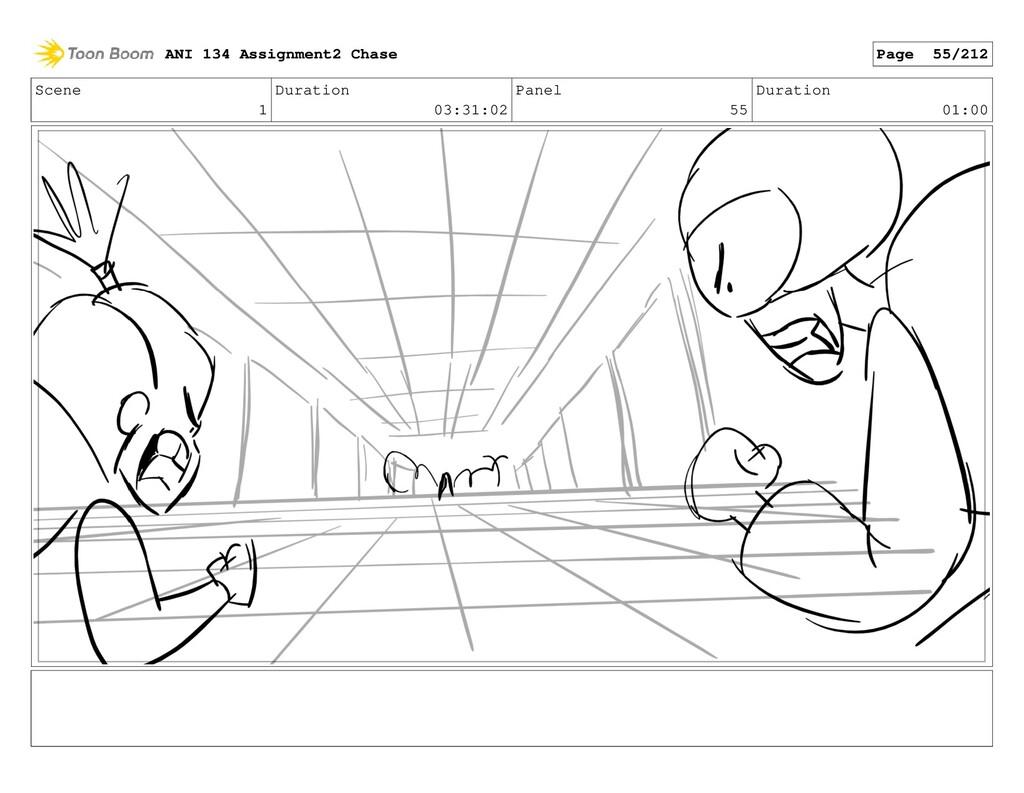 Scene 1 Duration 03:31:02 Panel 55 Duration 01:...