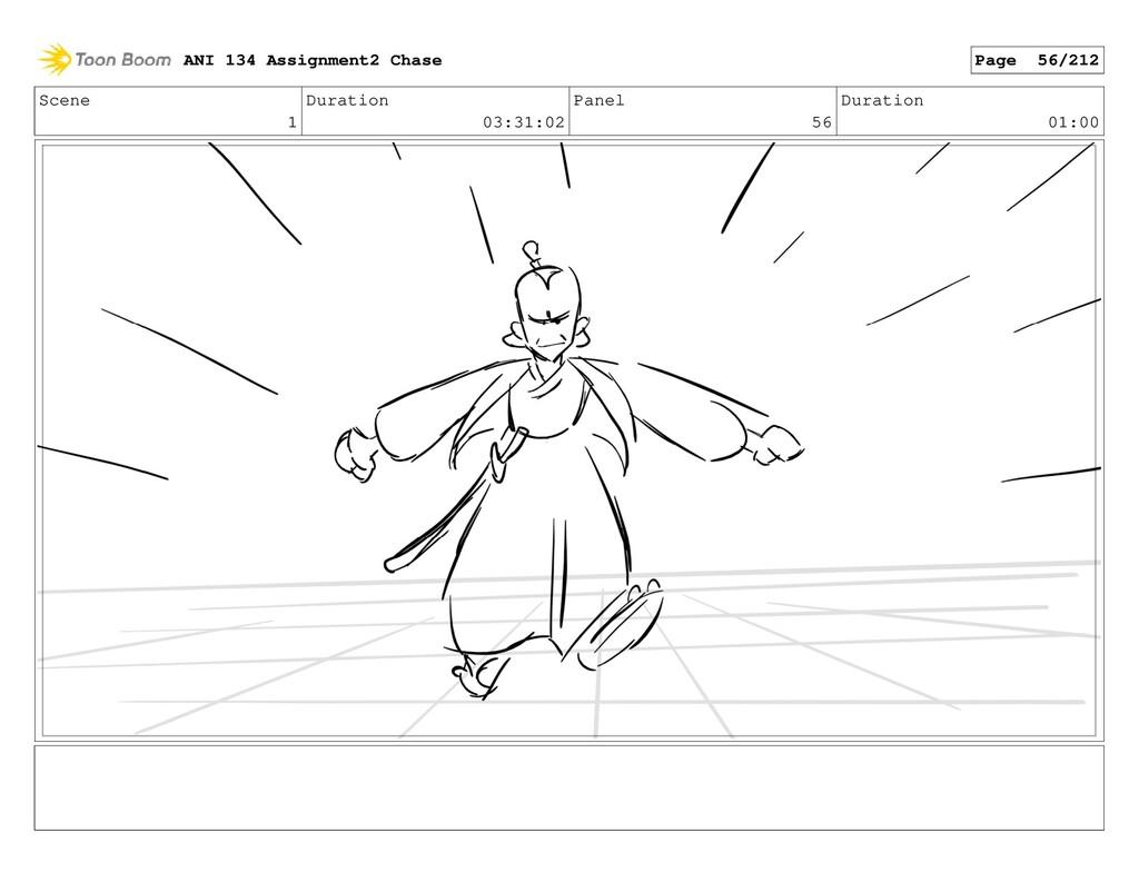 Scene 1 Duration 03:31:02 Panel 56 Duration 01:...