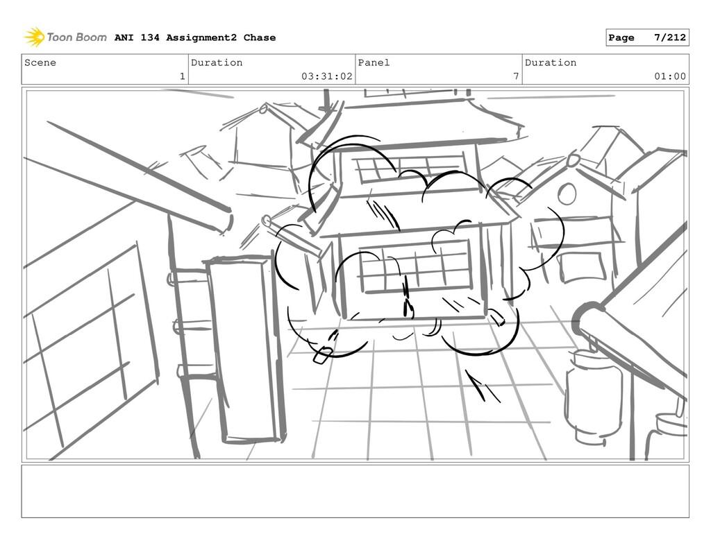 Scene 1 Duration 03:31:02 Panel 7 Duration 01:0...