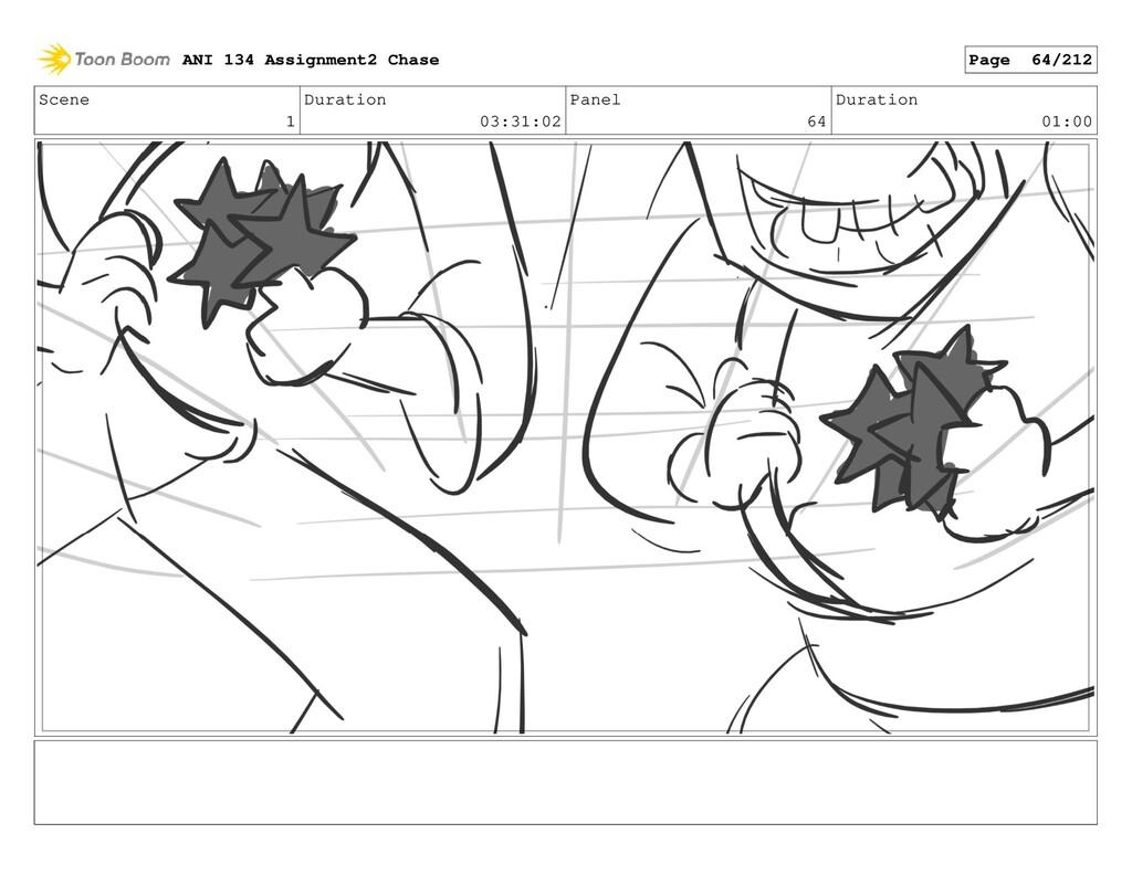 Scene 1 Duration 03:31:02 Panel 64 Duration 01:...