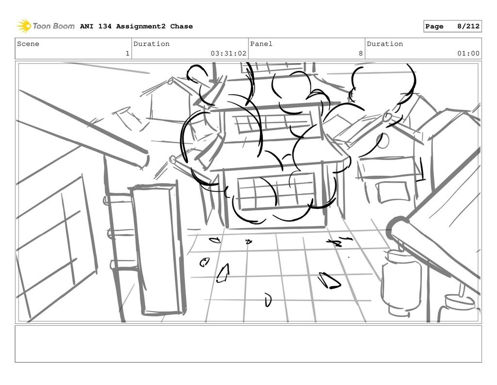 Scene 1 Duration 03:31:02 Panel 8 Duration 01:0...