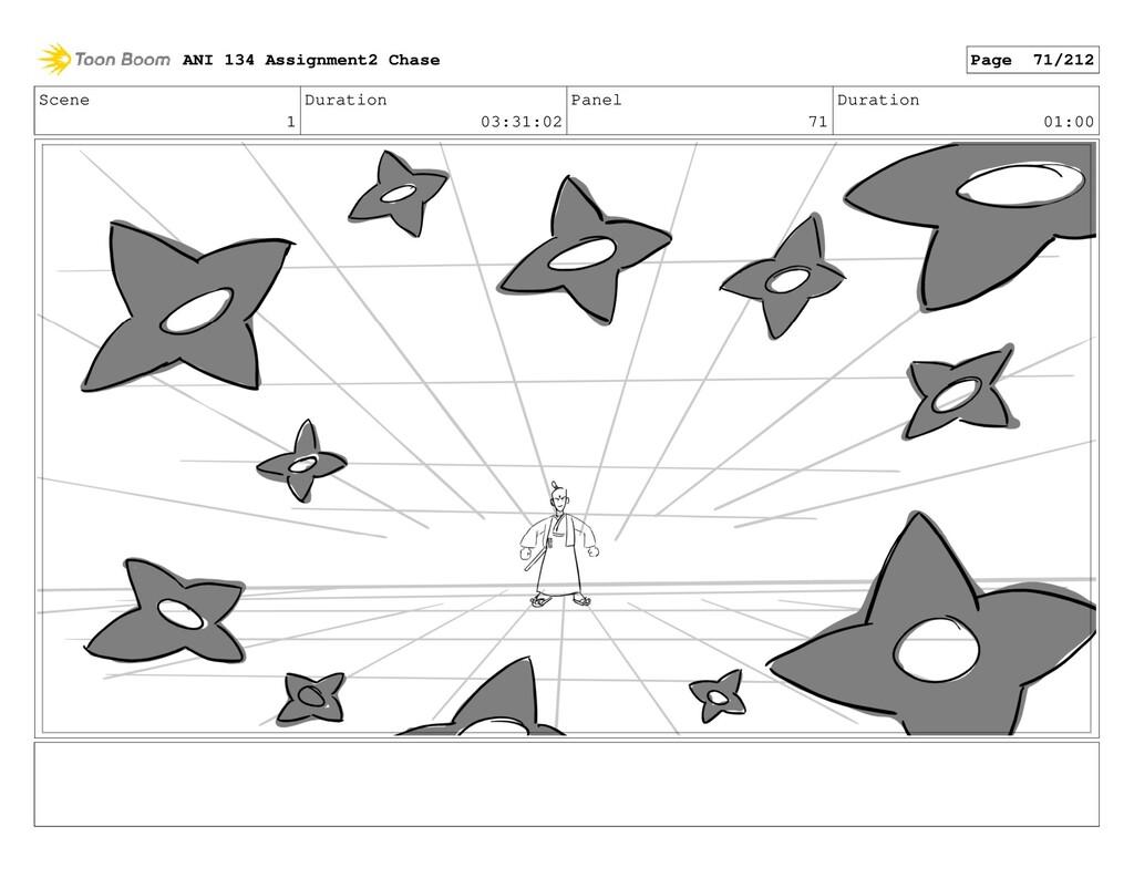 Scene 1 Duration 03:31:02 Panel 71 Duration 01:...