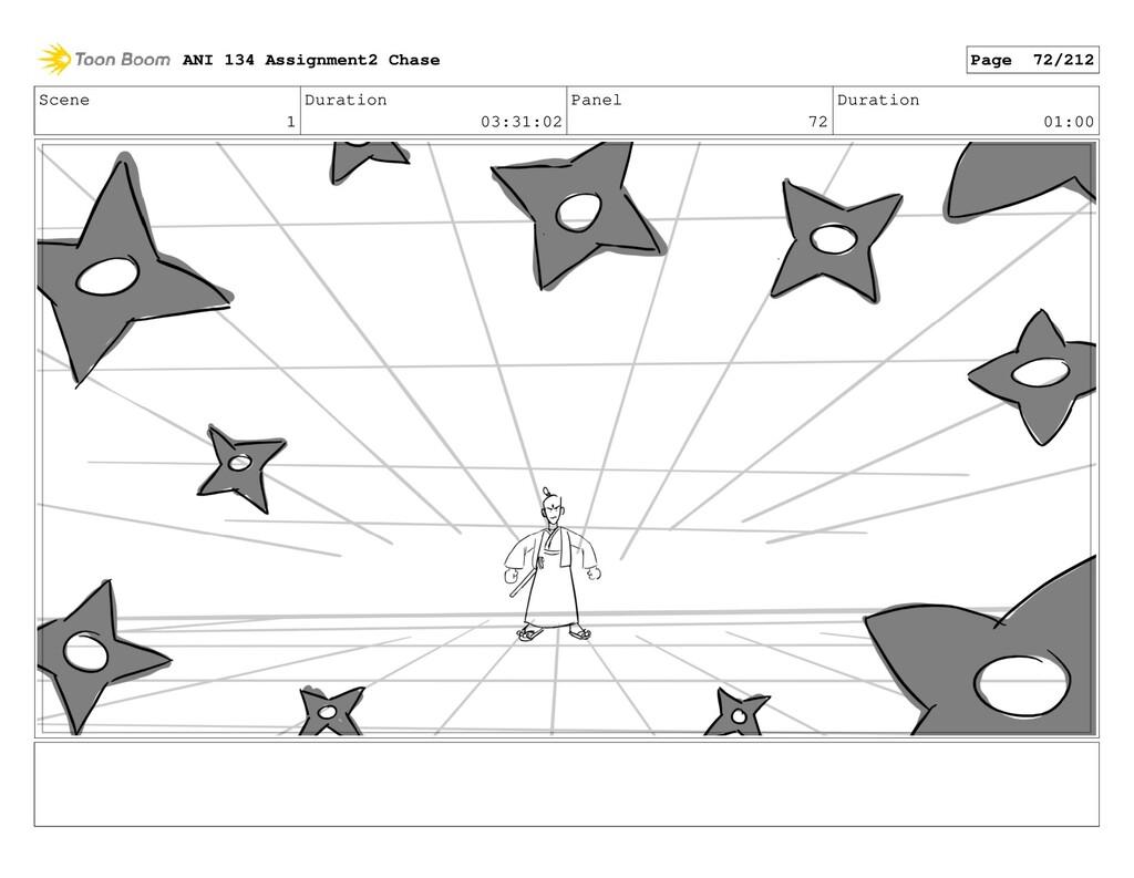 Scene 1 Duration 03:31:02 Panel 72 Duration 01:...