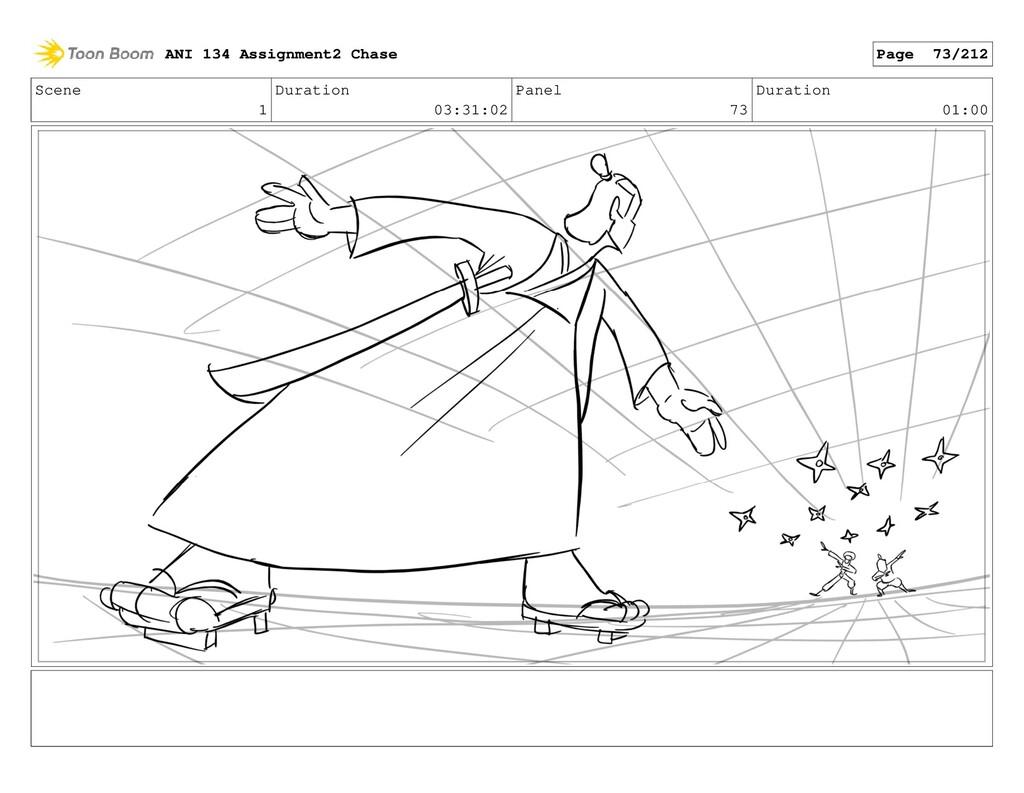 Scene 1 Duration 03:31:02 Panel 73 Duration 01:...