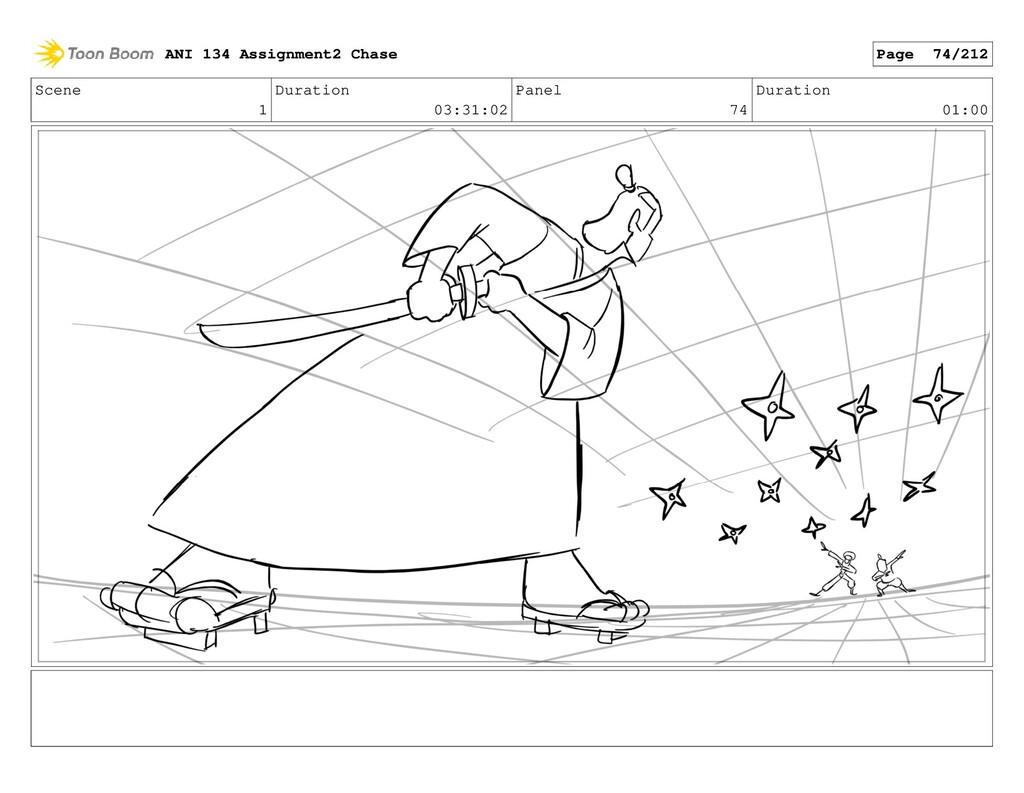 Scene 1 Duration 03:31:02 Panel 74 Duration 01:...