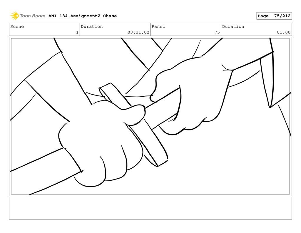 Scene 1 Duration 03:31:02 Panel 75 Duration 01:...