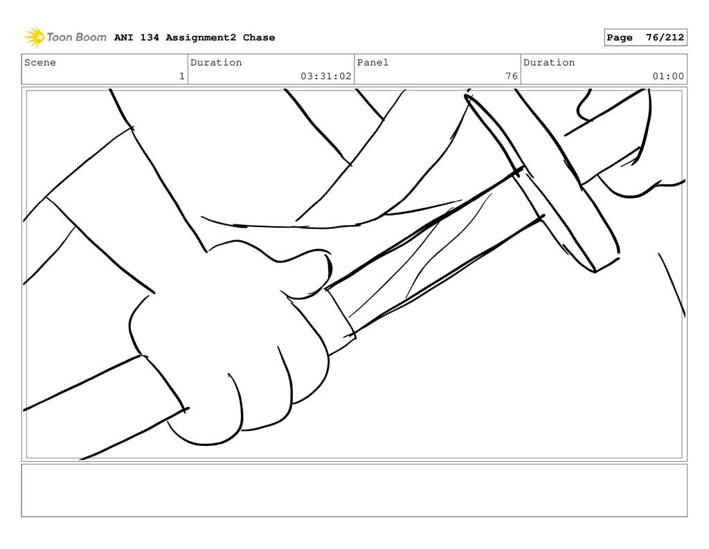 Scene 1 Duration 03:31:02 Panel 76 Duration 01:...